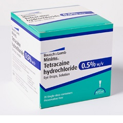 тетракаин глазные капли инструкция цена