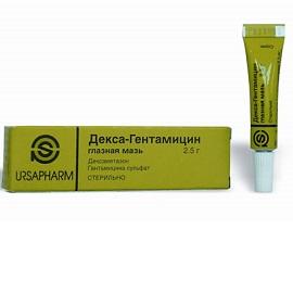декса-гентамицин глазная мазь инструкция при лечении