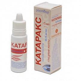 катаракс глазные капли инструкция