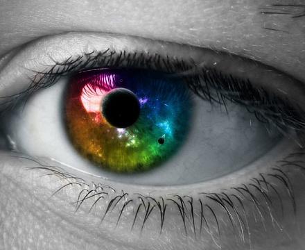 Глаза хамелеон