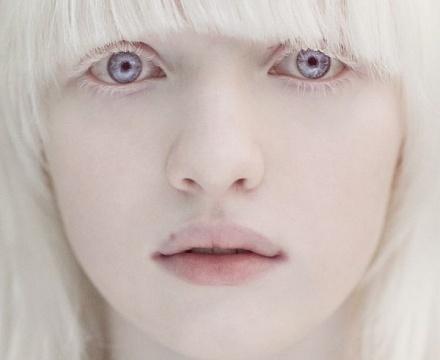 Тёмно серый цвет глаз