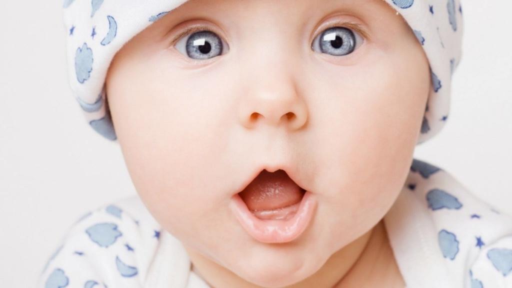 Цвет глаз ребёнка