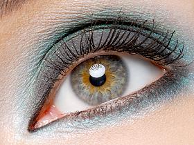 Цвет волос для серых глаз - цвет глаз, красота, макияж