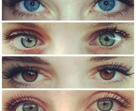 Все цвета глаз оборотня